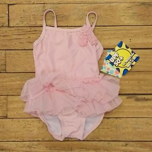 Little Me tutu bathing suit. New with tags!